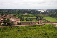Old palace in Orchha, Stock Photography