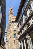 Old Palace (Palazzo Vecchio) in Florence, Italy Royalty Free Stock Image
