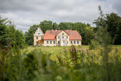 Old palace in poland Royalty Free Stock Photography