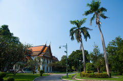 Old palace at Sanam Chandra - Thailand royalty free stock image