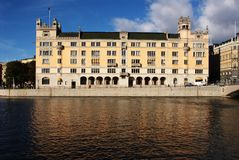 Old palace in Stockholm Stock Photo