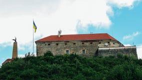 Old Palanok Castle. The castle Palanok in Mukachevo, Ukraine, built in 14th century Stock Images