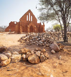 Old Palapye Church Botswana Stock Photo