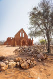 Old Palapye Church Botswana Royalty Free Stock Photos