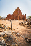Old Palapye Church Botswana Royalty Free Stock Images