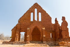 Old Palapye Church Botswana Royalty Free Stock Photography