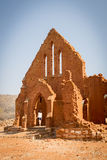 Old Palapye Church Botswana royalty free stock image