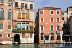 Old Palazzo in Venice, Italy Stock Image