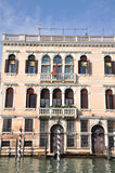 Old Palazzo in Venice, Italy Stock Photos