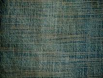 Old pale blue denim jean texture Stock Image
