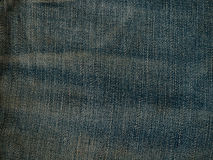 Old pale blue denim jean texture Royalty Free Stock Photo