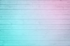 Old pale pink blue ombre plank wood Stock Images