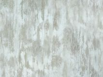 Old pale white aqua painted wood surface Royalty Free Stock Image