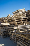 Old pallets Royalty Free Stock Photo