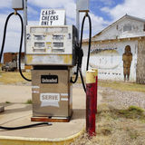 An Old Palominas Trading Post Gas Pump Royalty Free Stock Photo