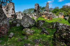 Old Panama City Ruins, Panama Stock Image