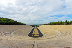 The old Panathenaic stadium in Athens Royalty Free Stock Photography