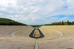 The old Panathenaic stadium in Athens Royalty Free Stock Photography