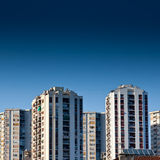Old panel apartments Royalty Free Stock Photos