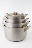 Old pans Stock Photos