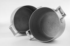 Old pans Stock Photography