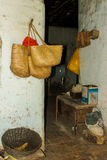 Old pantry storage deposit in a poor farmhouse in the brazilian Royalty Free Stock Photos