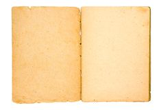 Old paper-1. Old paper of the beginning of the last century on a white background Stock Images
