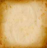 Old paper. Square grunge background with space for text or image royalty free illustration