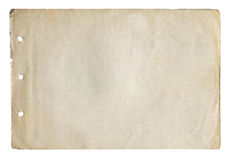 Old paper Royalty Free Stock Images