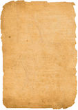 Old paper. Very old paper in yellow Stock Image