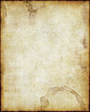 Old paper. Old worn parchment paper background texture image stock illustration