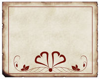 Old paper. Background with ornaments royalty free stock photography