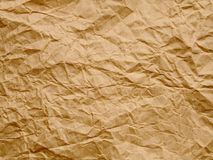 Old paper. Old crumbled paper Royalty Free Stock Image