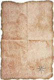 Old paper. Crtafted old paper background for map or globe Royalty Free Stock Photography