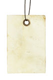 Old paper. Isolated on white background Royalty Free Stock Image