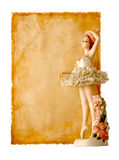 Old Paper-26. Message For Dance Royalty Free Stock Photo