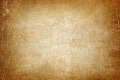 Old paper. Abstract background - old blank brown scratched paper stock photography