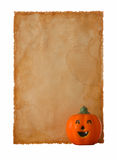 Old Paper-31. Message For Halloween Royalty Free Stock Photos