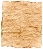 Old Paper 4. Old wrinkled paper perfect for aged or old looking backgrounds Royalty Free Stock Image