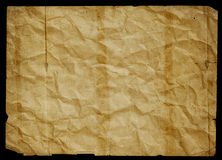 Old  paper. Vintage paper on the grunge wall - empty old dirty Royalty Free Stock Images