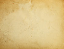 Old paper. Old yellow paper background with scratches royalty free illustration