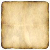 Old paper. Marked, distressed, burnt and old paper or parchment background, plenty of copy space for your text, isolated over white vector illustration