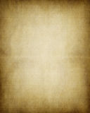 Old paper. Old worn parchment paper background texture image Stock Photography