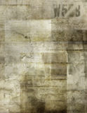 Old paper background. Stained old paper with writings of vintage era royalty free illustration