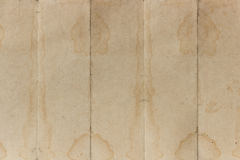 Old paper background. Are pleat vertical Stock Image