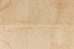 Old paper background. Are pleat horizon Stock Photography