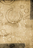 Old paper background. Old stained textured paper background Royalty Free Stock Images
