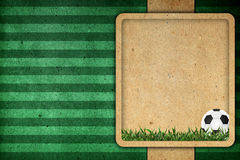Old paper background football Royalty Free Stock Photos