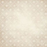 Old paper background with points on checkered pattern Royalty Free Stock Photo