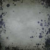 Old paper background with splatters Stock Image